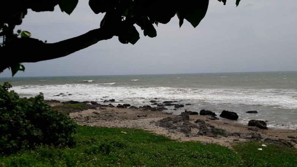 Wunderschöne Küste im Süden Taiwans